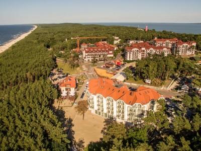 krynica morska, Hotele w Krynicy Morskiej