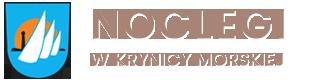 logo noclegi w krynicy morskiej